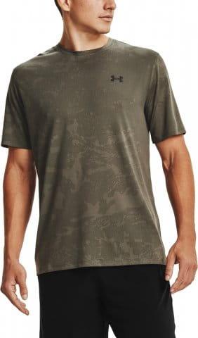 T-Shirt Under Armour UA Training Vent Camo SS-GRN