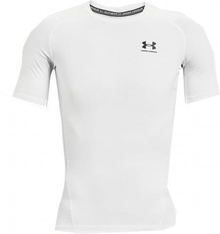 Kompressions-T-Shirt Under Armour UA HG Armour Comp SS-WHT