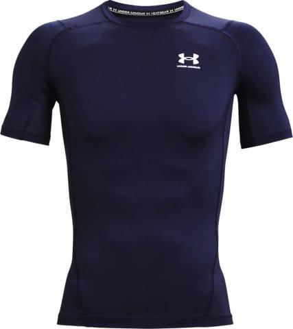 Kompressions-T-Shirt Under Armour UA HG Armour Comp SS-NVY