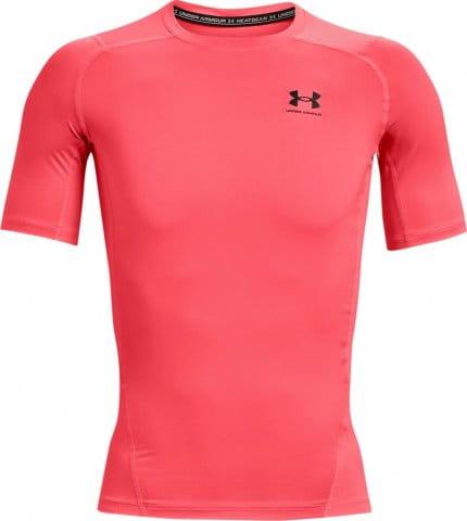 Kompressions-T-Shirt Under Armour UA HG Armour Comp SS-RED