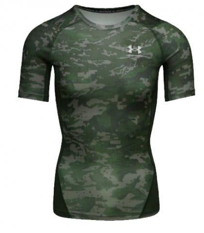 T-Shirt Under Armour UA HG Armour Camo Comp SS