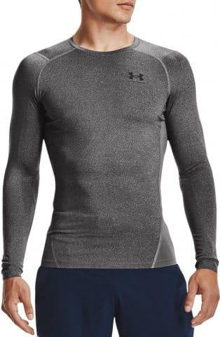 Kompressions-T-Shirt Under Armour UA HG Armour Comp LS-GRY