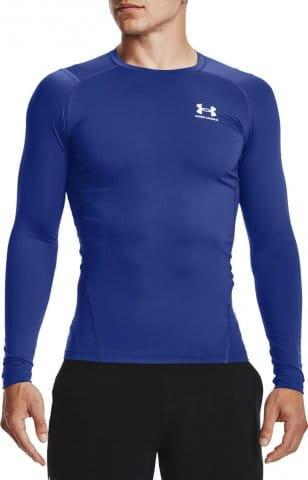 Kompressions-T-Shirt Under Armour UA HG Armour Comp LS-BLU