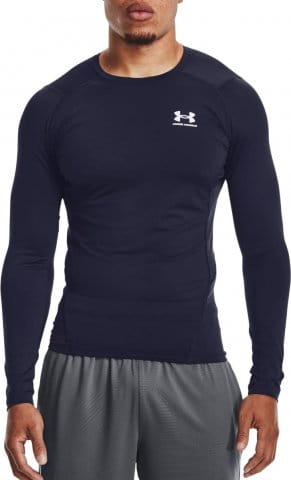 Kompressions-T-Shirt Under Armour UA HG Armour Comp LS-NVY