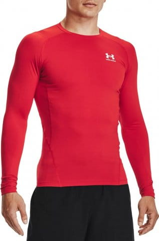 Kompressions-T-Shirt Under Armour UA HG Armour Comp LS-RED