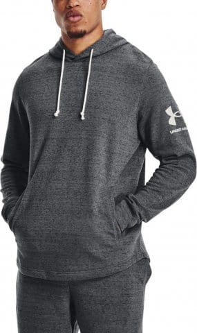 Hanorac cu gluga Under Armour UA RIVAL TERRY HOODIE-GRY
