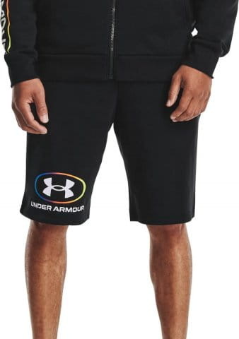 Under Armour UA RIVAL FLC LOCKERTAG SHORT-BLK Rövidnadrág