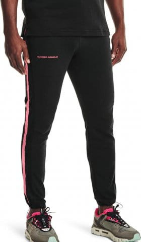 Nohavice Under Armour UA RIVAL TERRY AMP PANT-BLK