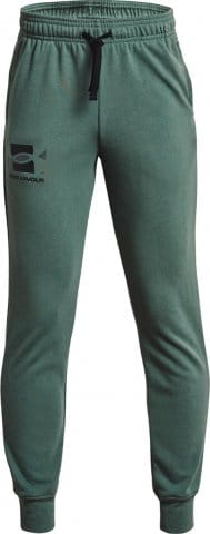 Nohavice Under Armour UA RIVAL TERRY PANTS-GRN