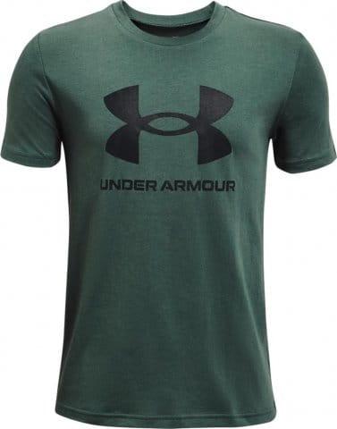 Tričko Under Armour UA Sportstyle Logo SS-GRN