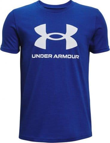 Tričko Under Armour UA Sportstyle Logo SS-BLU