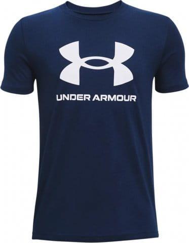 Tricou Under Armour UA Sportstyle Logo SS-NVY