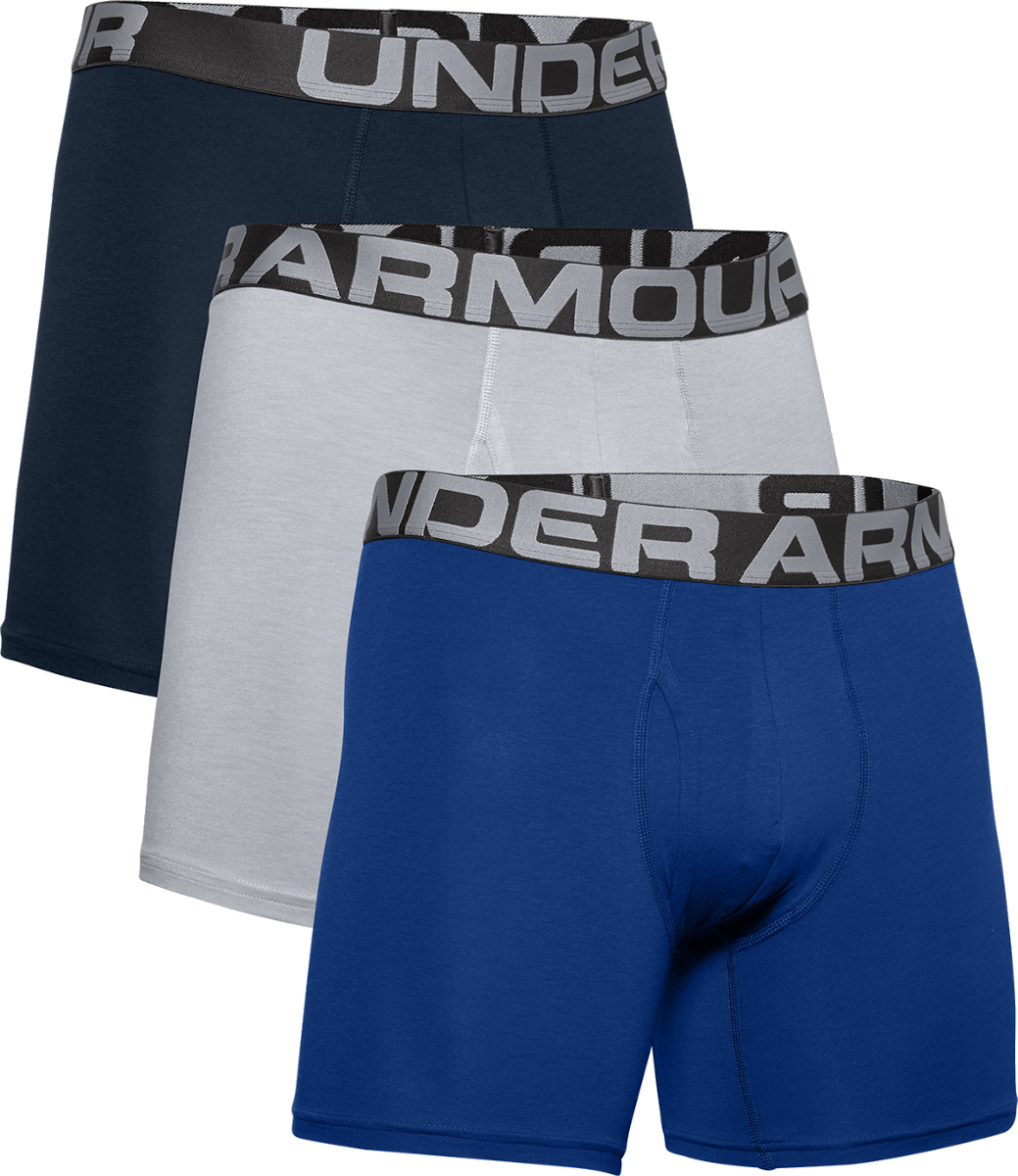 Imperio Supervisar bosquejo  Calzoncillos bóxer Under Armour Charged Boxer 6in 3er Pack - Top4Football.es