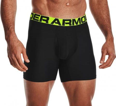 Under Armour UA Tech 6in 2 Pack-BLK Boxeralsók