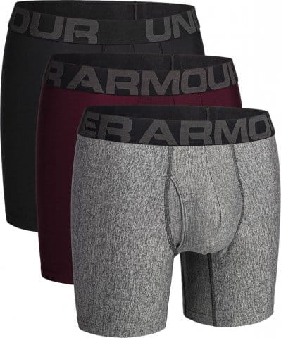 Boxerky Under Armour UA Tech 6in 3 Pack