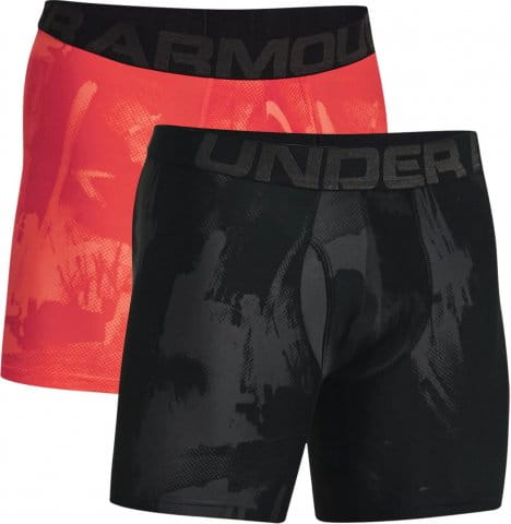 Boxerky Under Armour UA Tech 6in Novelty 2 Pack