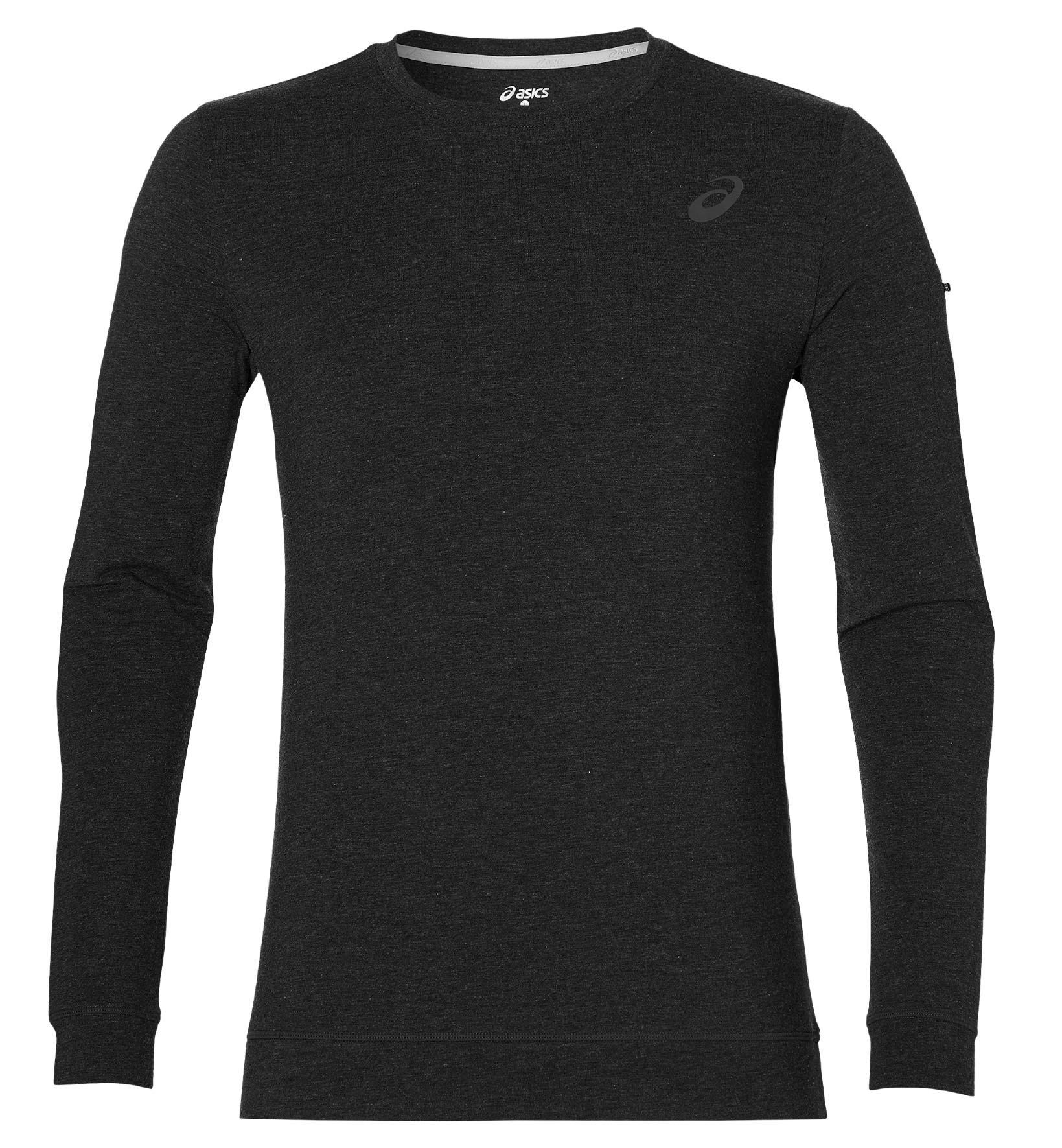 asics long sleeve grey shirts