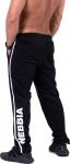 Pánské fitness tepláky Nebbia Side Stripe Retro joggers