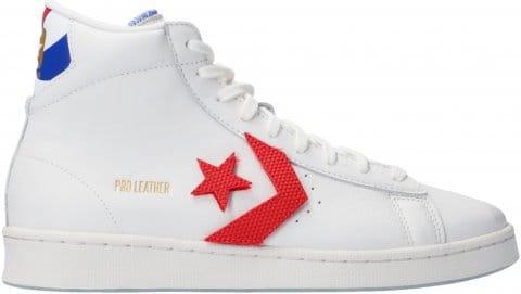 Converse Converse Pro Leather Vintage HI Weiss Rot F103 Cipők