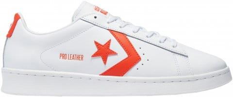 Converse Converse Pro Leather Weiss Orange F968 Cipők