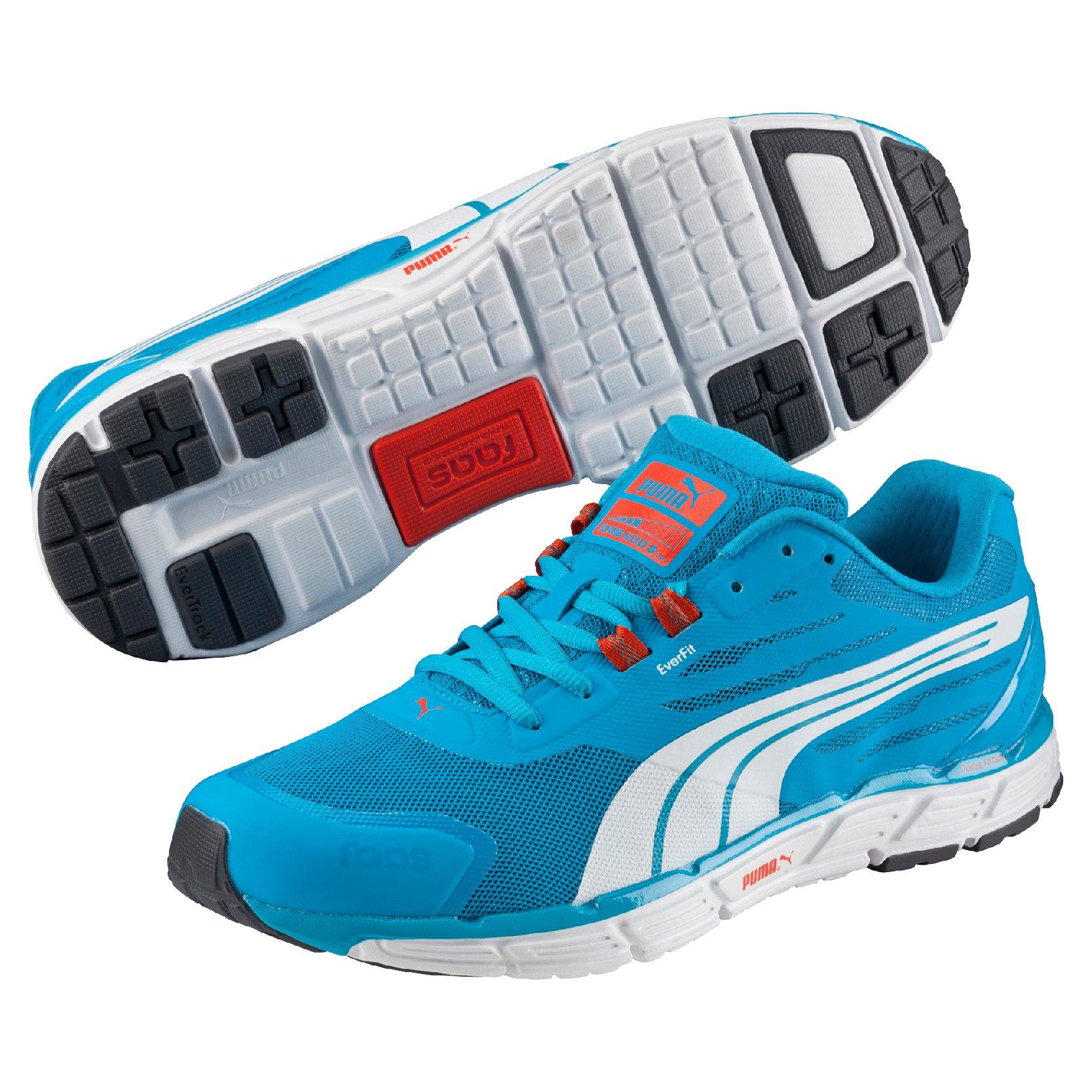4faa2804805 Běžecké boty Puma Faas 500 S v2 atomic blue-white