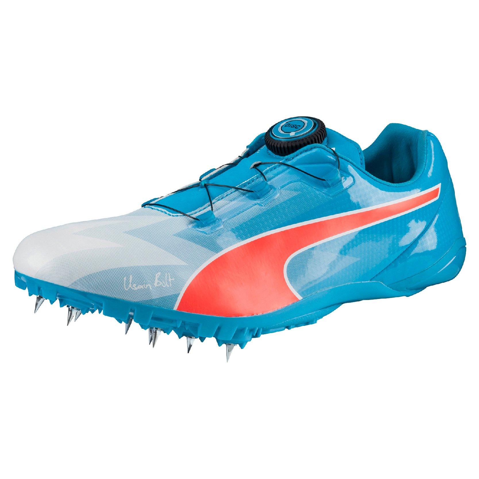 Track shoesSpikes Puma Bolt EvoSPEED DISC atomic blue red blast