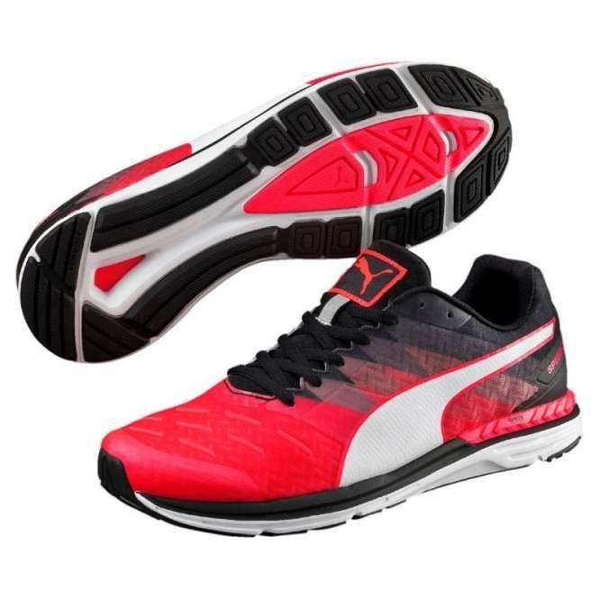 Běžecké boty Puma Speed 300 IGNITE Red Blast- Black-Pu