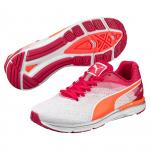 Běžecké boty Puma Speed 300 IGNITE Wn white-rose red-fluo