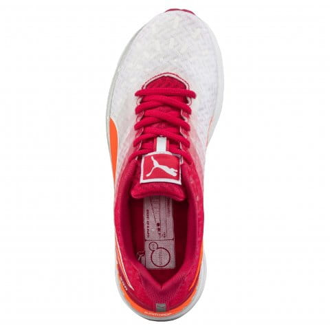 Running shoes Puma Speed 300 IGNITE Wn white-rose red-fluo ...
