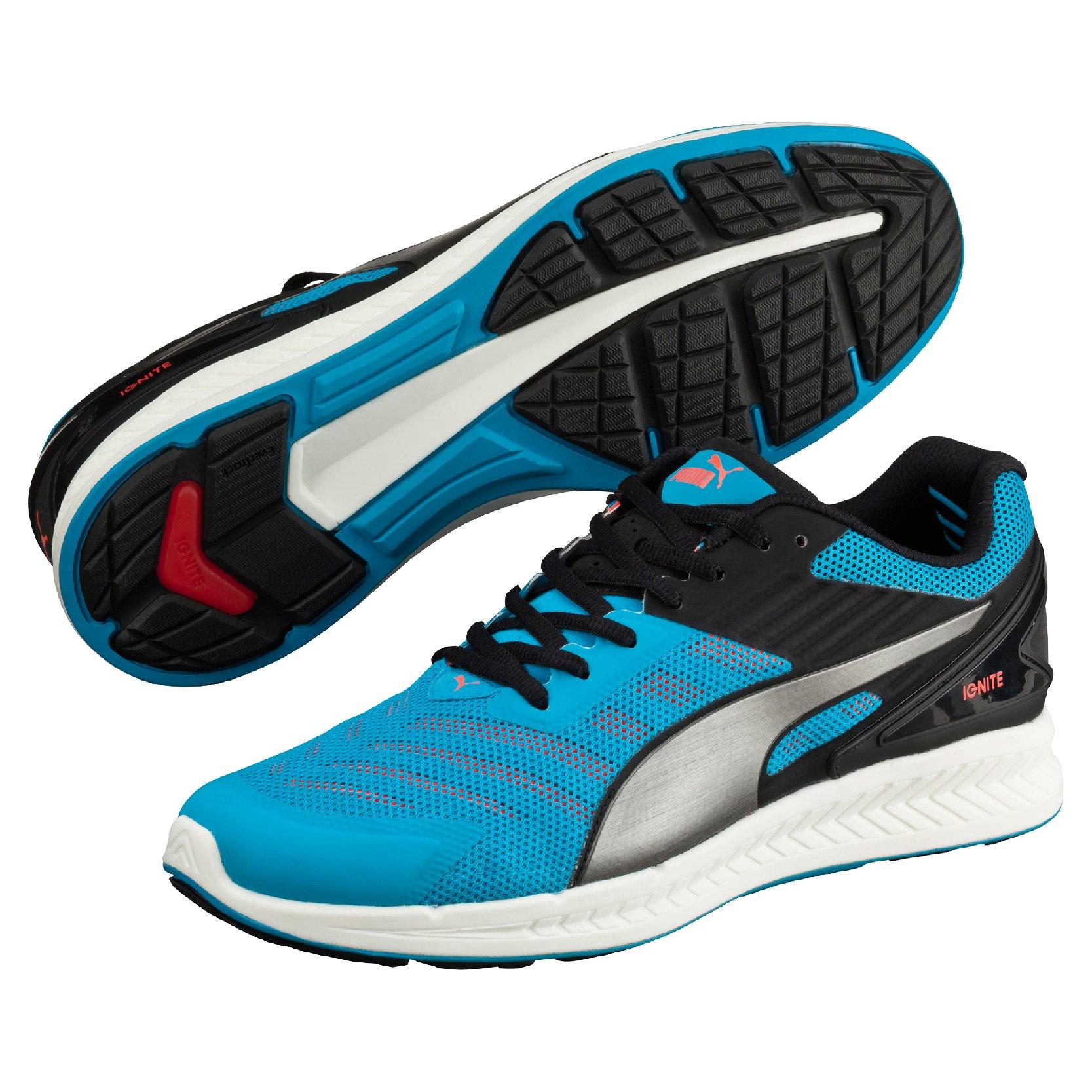 Běžecké boty Puma IGNITE v2 atomic blue-aged silver-red bl