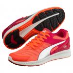 Běžecké boty Puma IGNITE v2 Wn s rose red-fluo peach- – 3