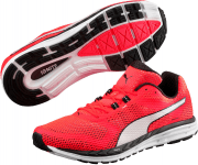 Speed 500 IGNITE Red Blast- White-Pu