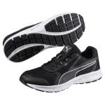 Essential Runner Black- Silver