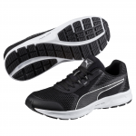 Běžecké boty Puma Essential Runner Black- Silver