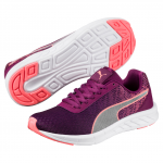 Obuv Puma Comet Jr Nrgy Peach-Dark Purple
