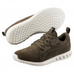 Běžecké boty Puma Carson 2 Molded Suede Olive Night-Whispe
