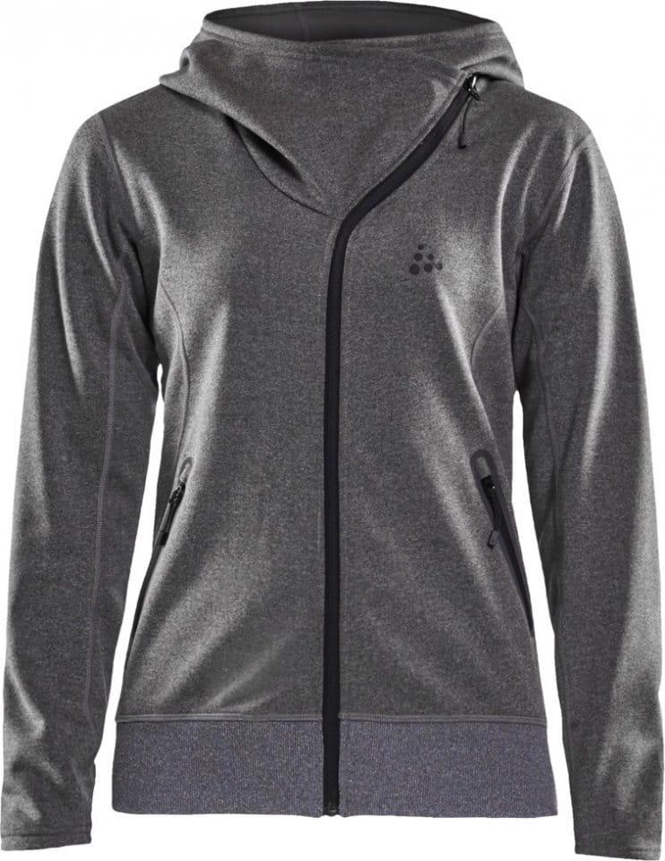 Craft CRAFT Sports Fleece Asymetric Hoodie Kapucnis melegítő felsők