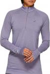 Long-sleeve T-shirt Asics SEAMLESS LS 1/2 ZIP TOP