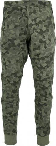 PRINTED RIB CUFF PANTS