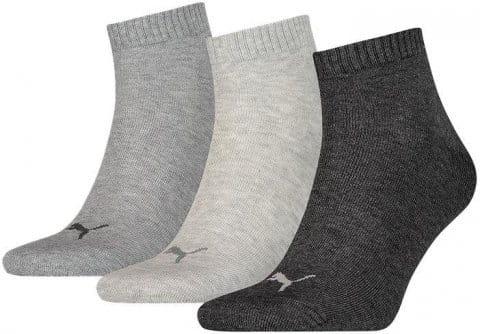 Socks Puma SOCKS Quarter Plain 3 PACK