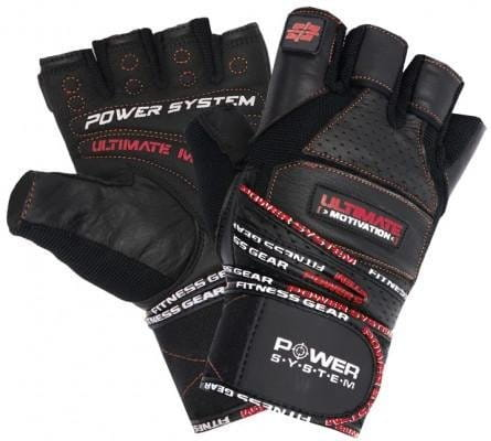 POWER SYSTEM-GLOVES ULTIMATE MOTIVATION-RED