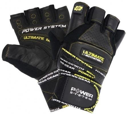 Gloves Power System POWER SYSTEM-GLOVES ULTIMATE MOTIVATION-YELLOW