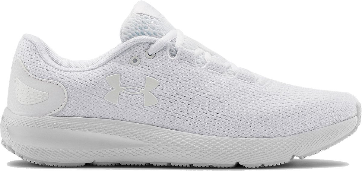 white ua shoes