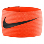 Kapitánská páska Nike FUTBOL ARM BAND 2.0 TOTAL CRIMSON/BLACK