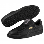 Obuv Puma Basket Classic LFS black-team gold