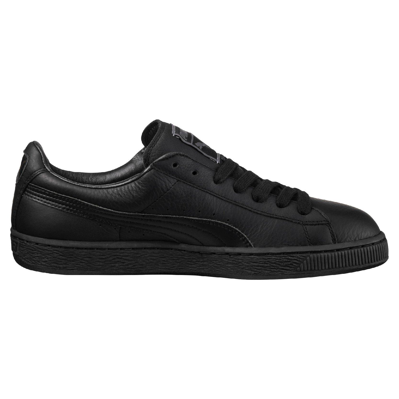 Shoes Puma Basket Classic LFS black-team gold