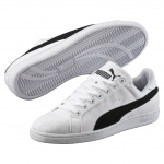 Obuv Puma Smash CV white-black