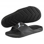 Pantofle Puma Divecat black-white