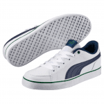 Court Point Vulc v2 Jr White-Blue D