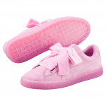 Suede Heart RESET Wn s PRISM PINK-PRISM